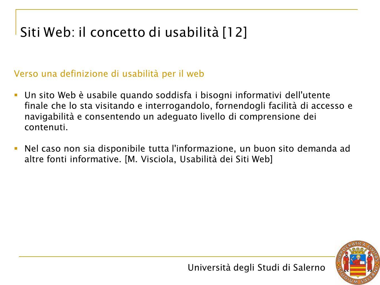 Siti Web: il concetto di usabilità [12]